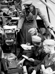Fot. Heinz Guderian i Enigma na froncie kampanii francuskiej
