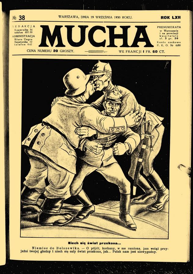 """""""Mucha"""", czyli polskie """"Charlie Hebdo"""" okresu przedwojennego"""